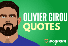 Olivier Giroud quotes about life and football