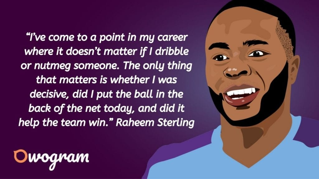 Raheem Sterling quotes about winning