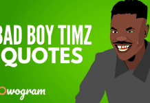 All Bad Boy Timz quotes