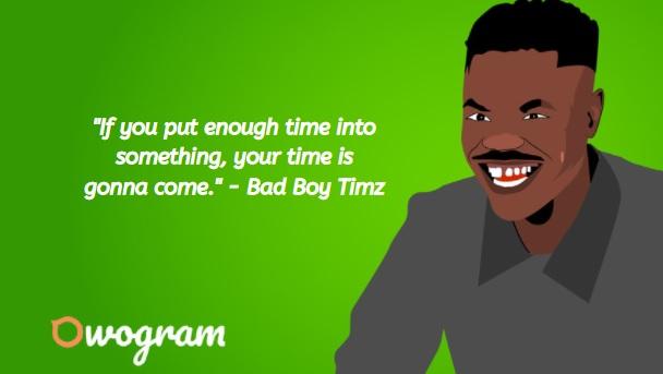 how much is bad boy timz net worth