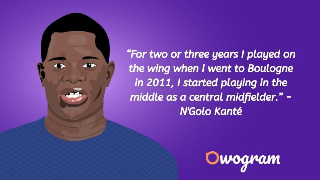 Things Kante once said