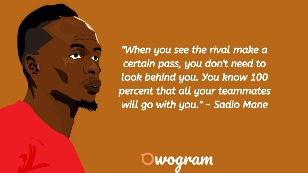 Quotes by Sadio Mané