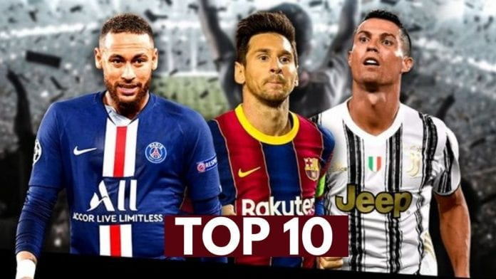 Top soccer players