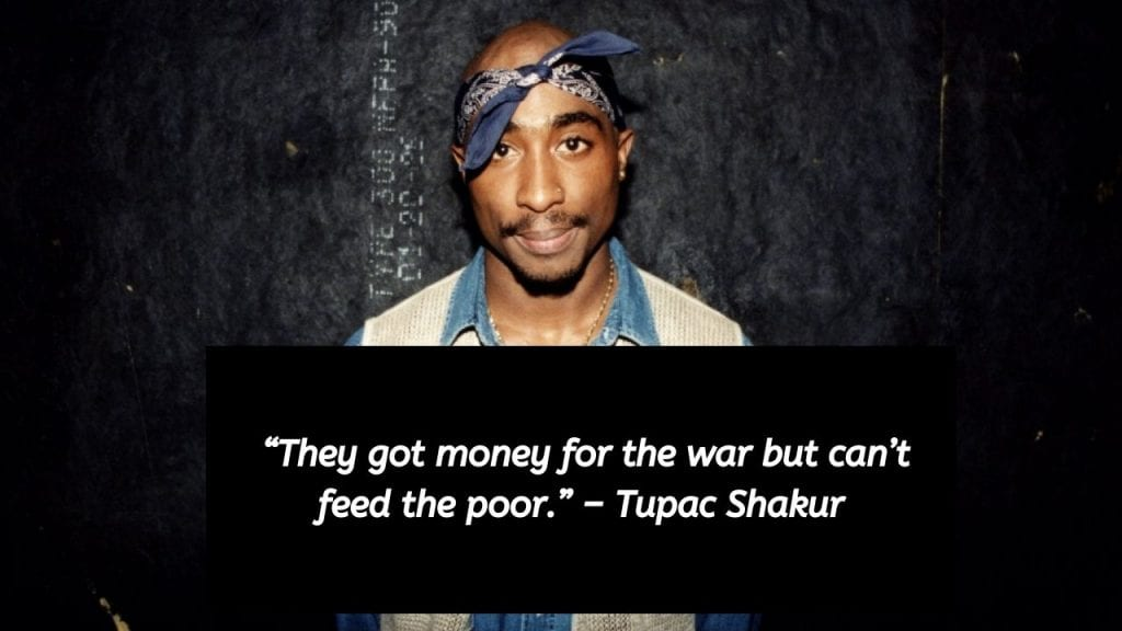 quotes by tupac about war
