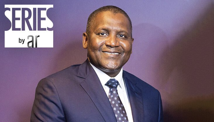 The richest man in Nigeria - Aliko Dangote