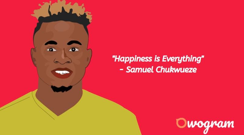 What is Samuel Chukwueze net worth