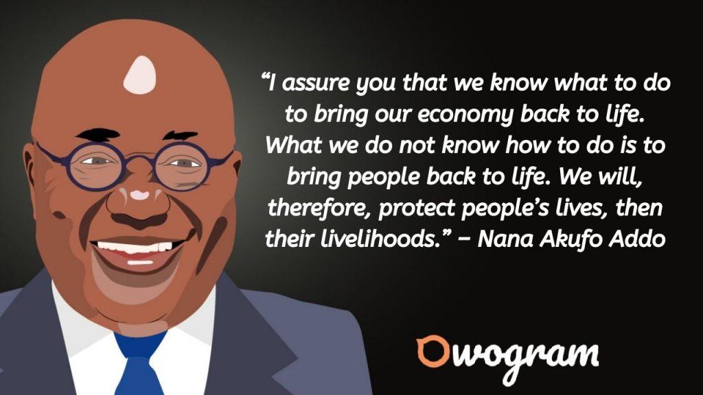 quotes and sayings by Nana Akufo