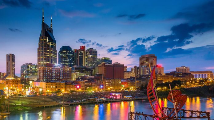 Nashville city - the capital of Tennessee