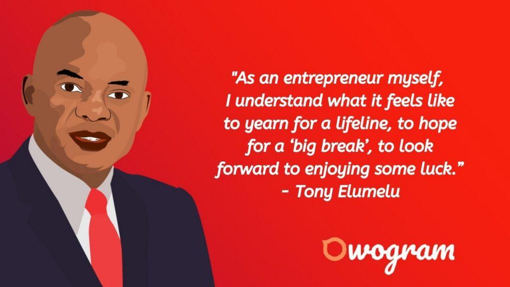 Tony Elumelu quotes about life