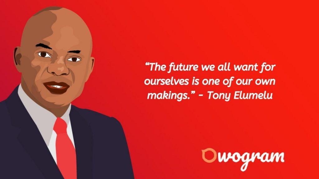 quotes by Tony Elumelu