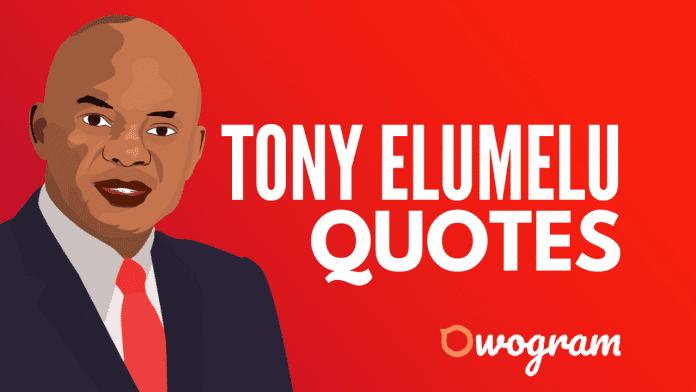 Tony Elumelu quotes