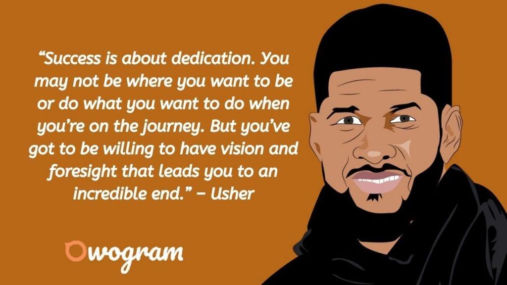 Usher Raymond Career