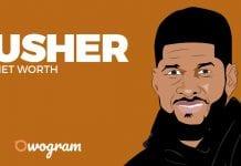 Usher net worth