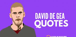 David De Gea quotes