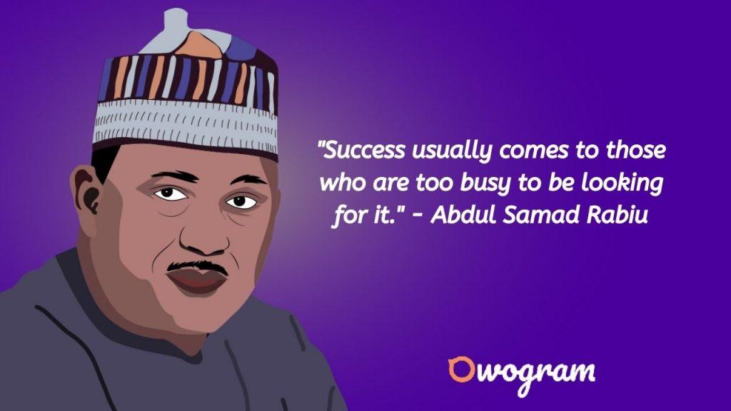 How much is Abdul Samad rabiu net worth