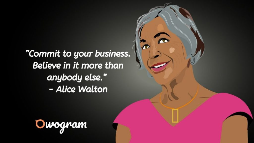 Alice Walton quotes on business