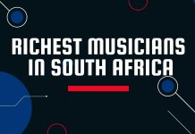 Top 10 Richest Musicians In South Africa