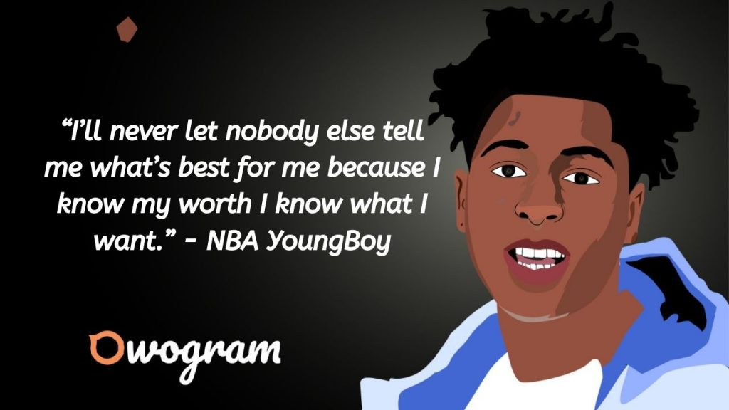 quotes by NBA Young Boy