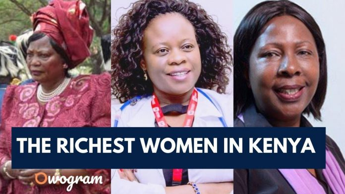 Top 10 Richest Women In Kenya and their net worth